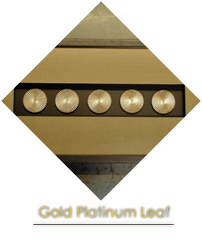 Gold Platinum leaf